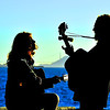 Musicians on the SF Bay :