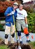 Volunteer Activities at Doyle-Hollis Park Area :