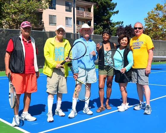 New Courts, Old Pros, at New, Improved Watergate Tennis Center