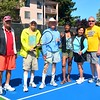 New Courts, Old Pros, at New, Improved Watergate Tennis Center :