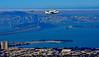 Space Shuttle Flies Over San Francisco Bay :