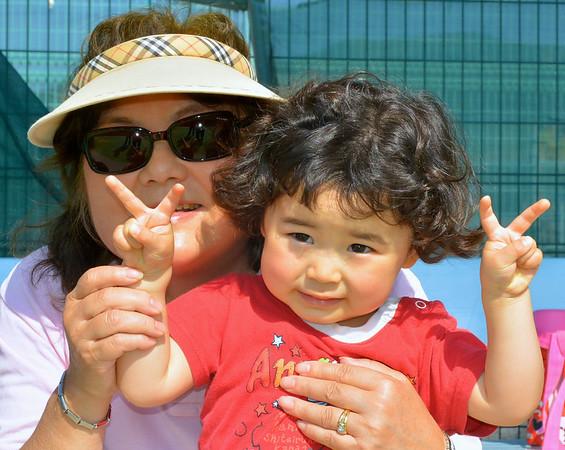 Tennis and Yakiniku, at KUT(e) and Noichi