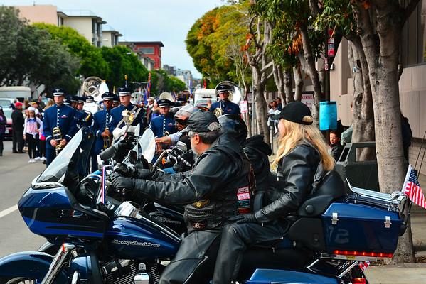 Veterans Day Parade in San Francisco